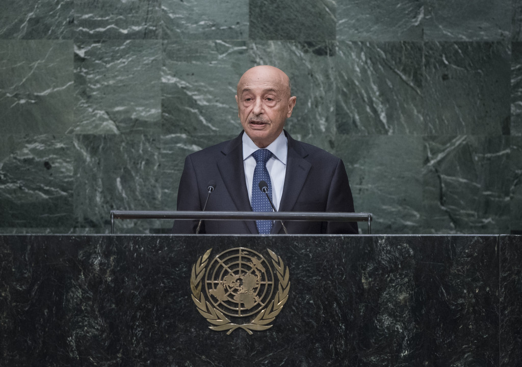 Agila Saleh Essa Gwaider, Acting Head of State of Libya
