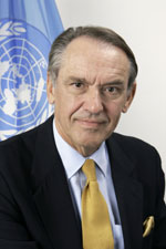 Jan Eliasson: the former Swedish FM is heading the search for a new high-commissioner for refugees
