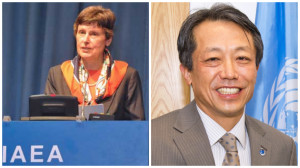 Angela Kane and her successor as high representative for disarmament, Ban's fellow South Korean, Kim Won Soo