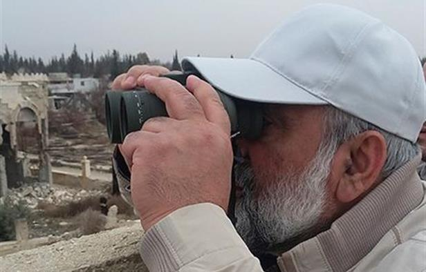 General Mohammad Reza Naqdi conducted a field tour in Quneitra